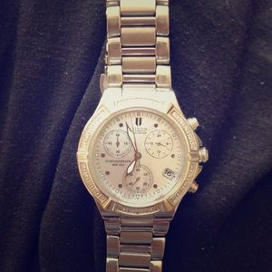 Citizen eco-drive mother of pearl watch